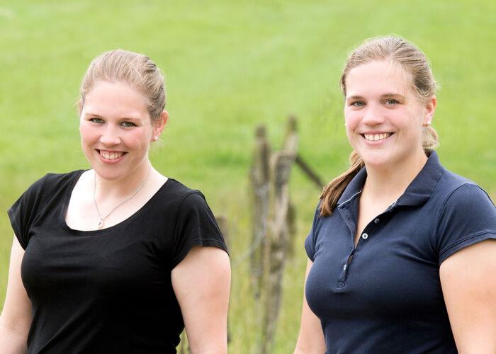 Landliebe Bäuerinnen Simone & Kirsten