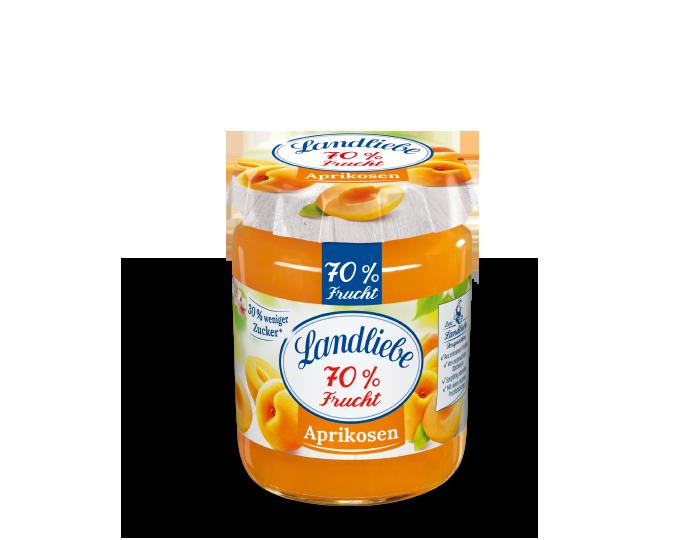 Landliebe 70% Frucht Aprikosen