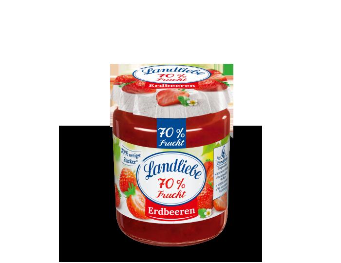 Landliebe 70% Frucht Erdbeeren
