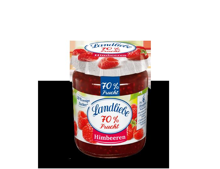 Landliebe 70% Frucht Himbeeren