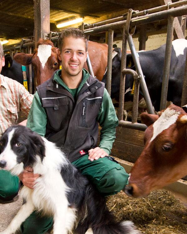 Landliebe Bauern Georg & David