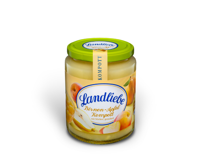 Landliebe Birnen-Apfel Kompott