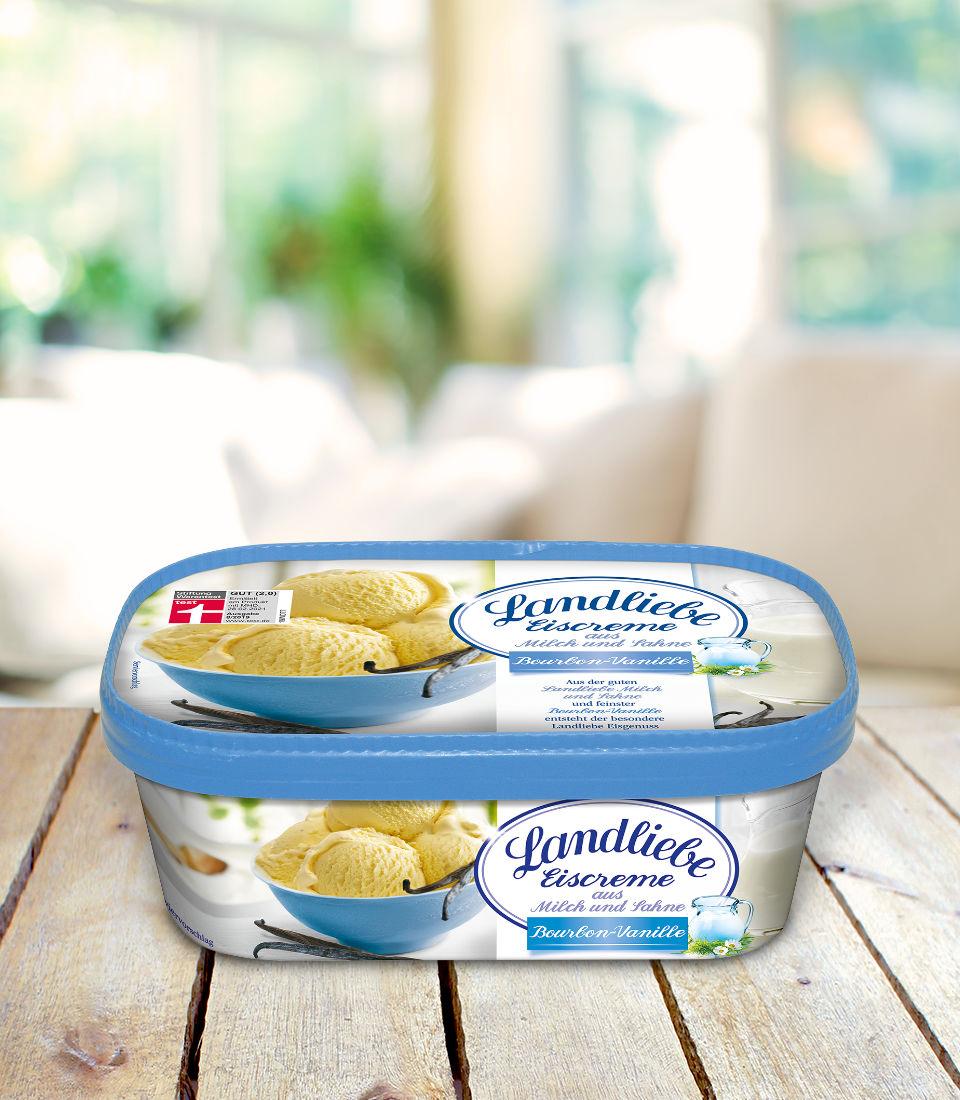 Landliebe Eiscreme Bourbon Vanille