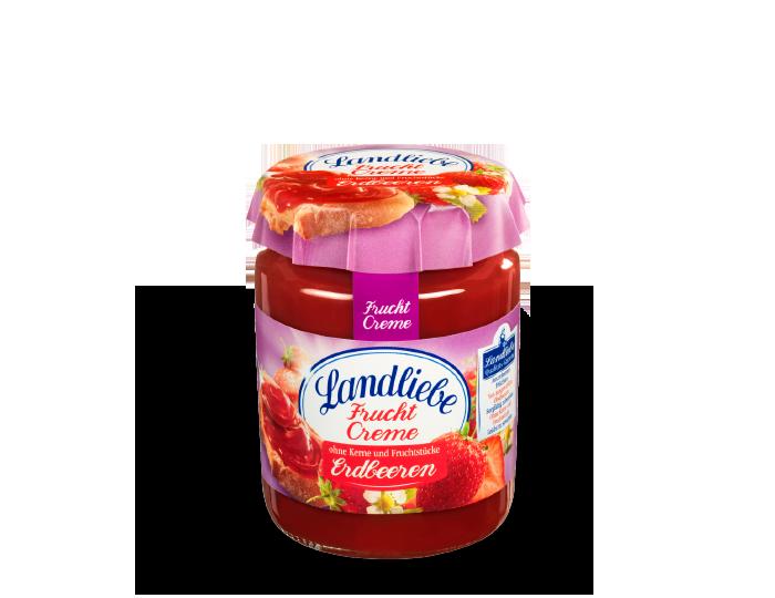 Landliebe Fruchtcreme Erdbeeren