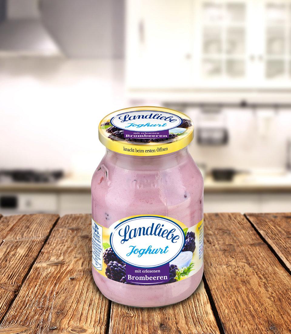 Landliebe Fruchtjoghurt Brombeere
