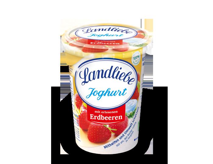 Landliebe Fruchtjoghurt Erdbeere