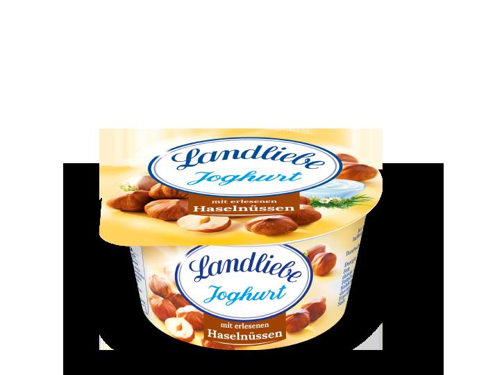 Landliebe Fruchtjoghurt Haselnuss