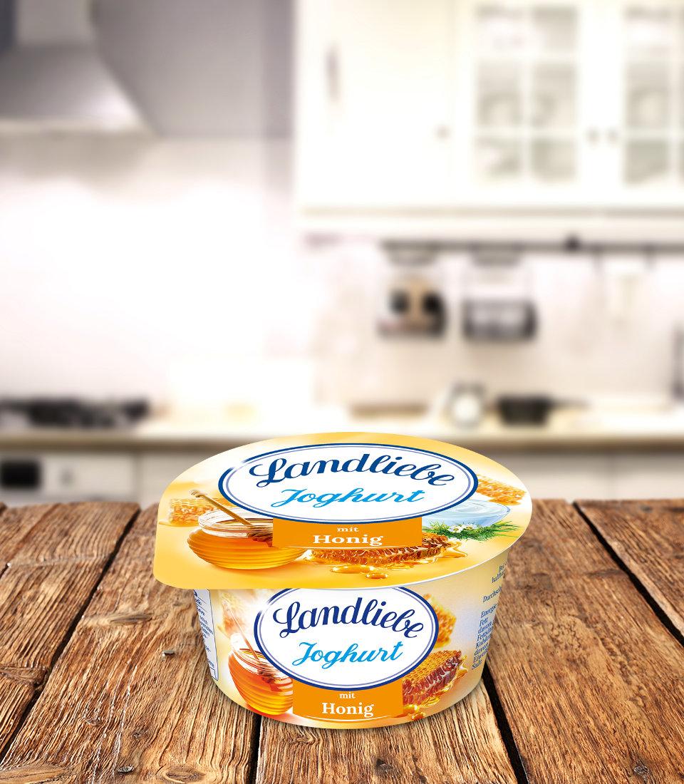 Landliebe Fruchtjoghurt Honig