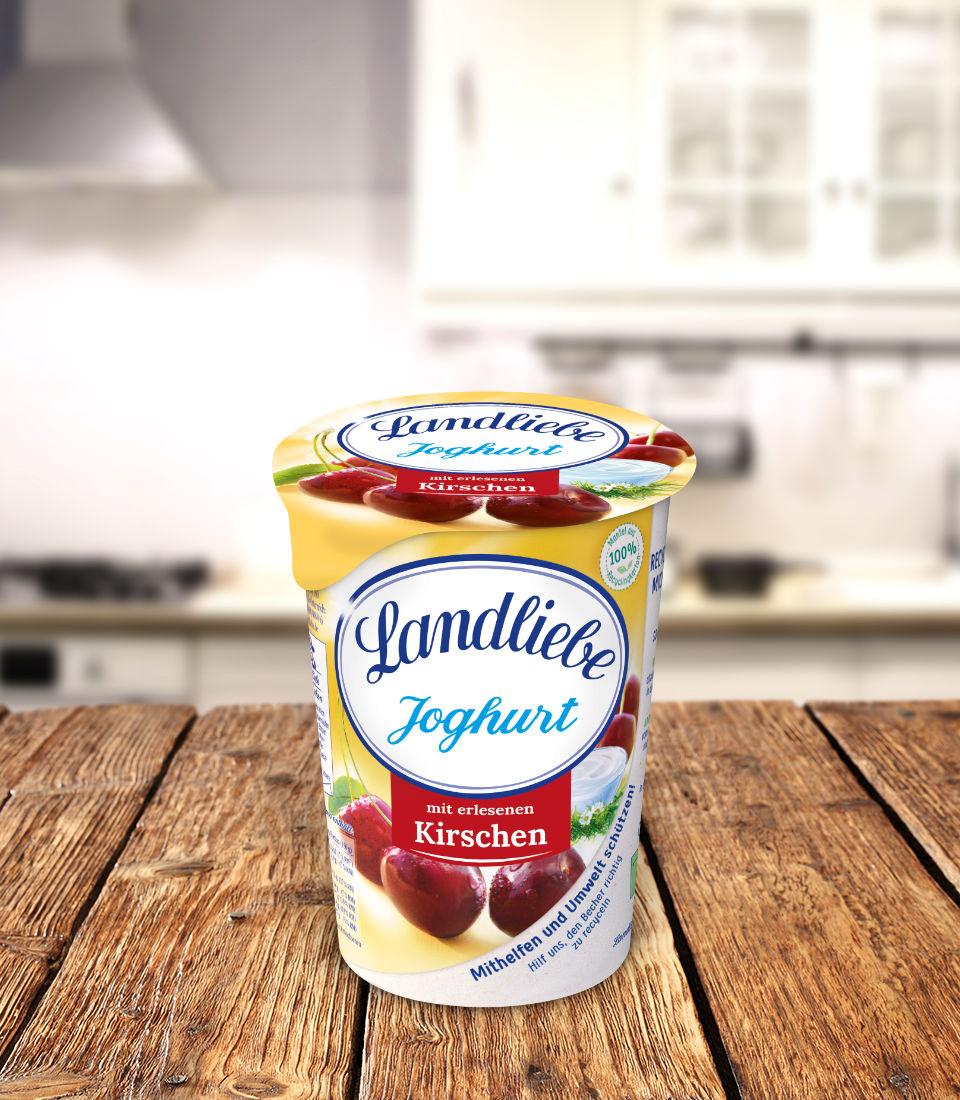 Landliebe Fruchtjoghurt Kirsche