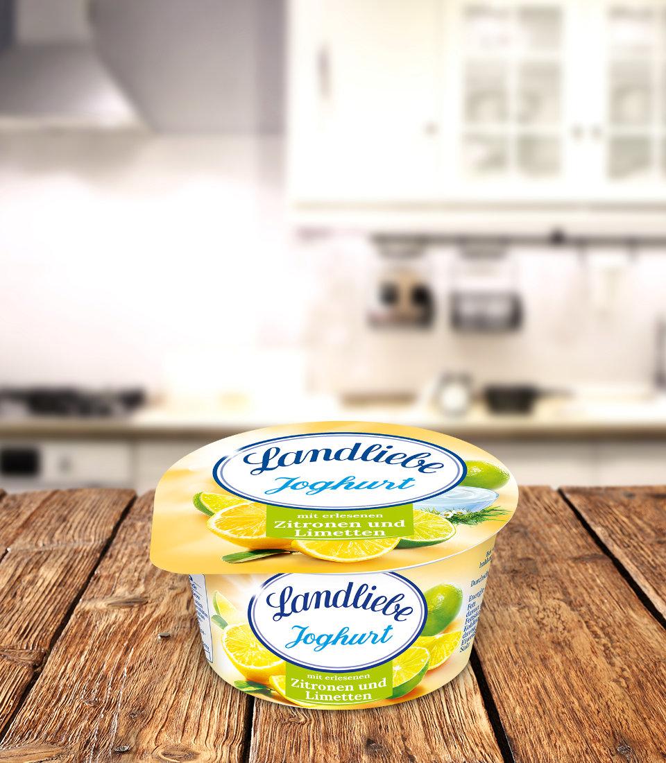Landliebe Fruchtjoghurt Zitrone-Limette