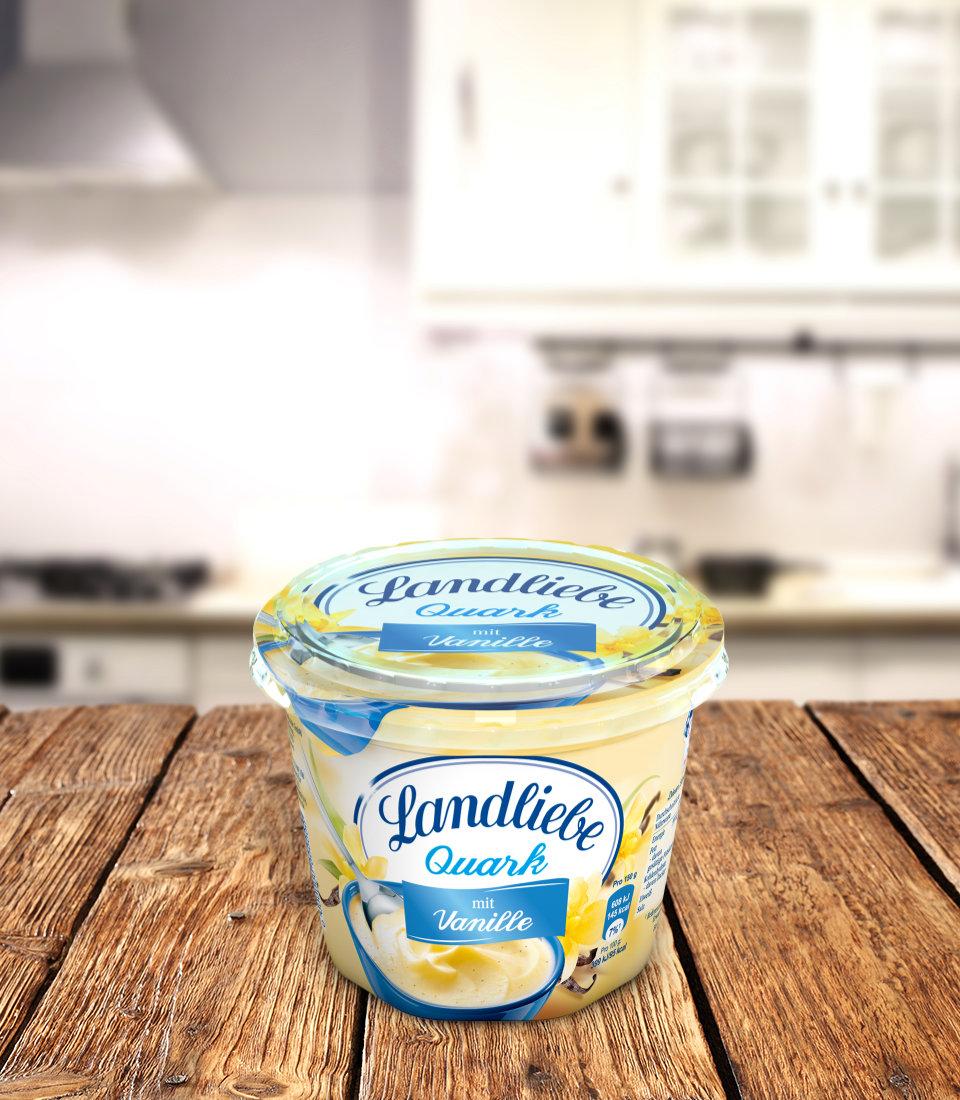Landliebe Fruchtquark Vanille