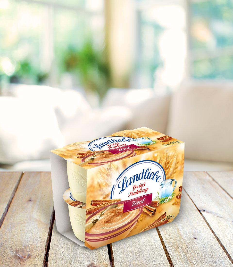 Landliebe Grießpudding Zimt