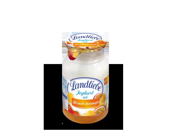 Landliebe Joghurt auf Pfirsich-Maracuja