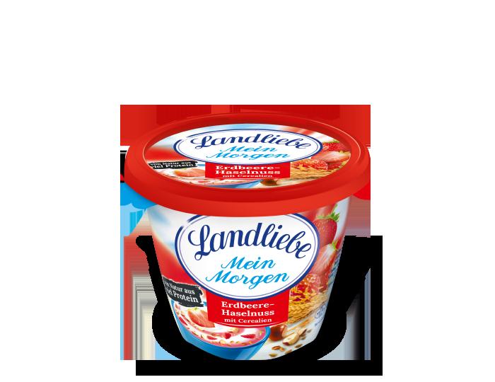 Landliebe Landliebe Mein Morgen Erdbeer-Haselnuss mit Cerealien