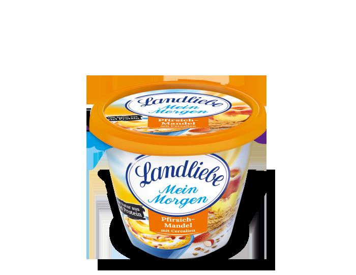 Landliebe Landliebe Mein Morgen Pfirsich-Mandel mit Cerealien