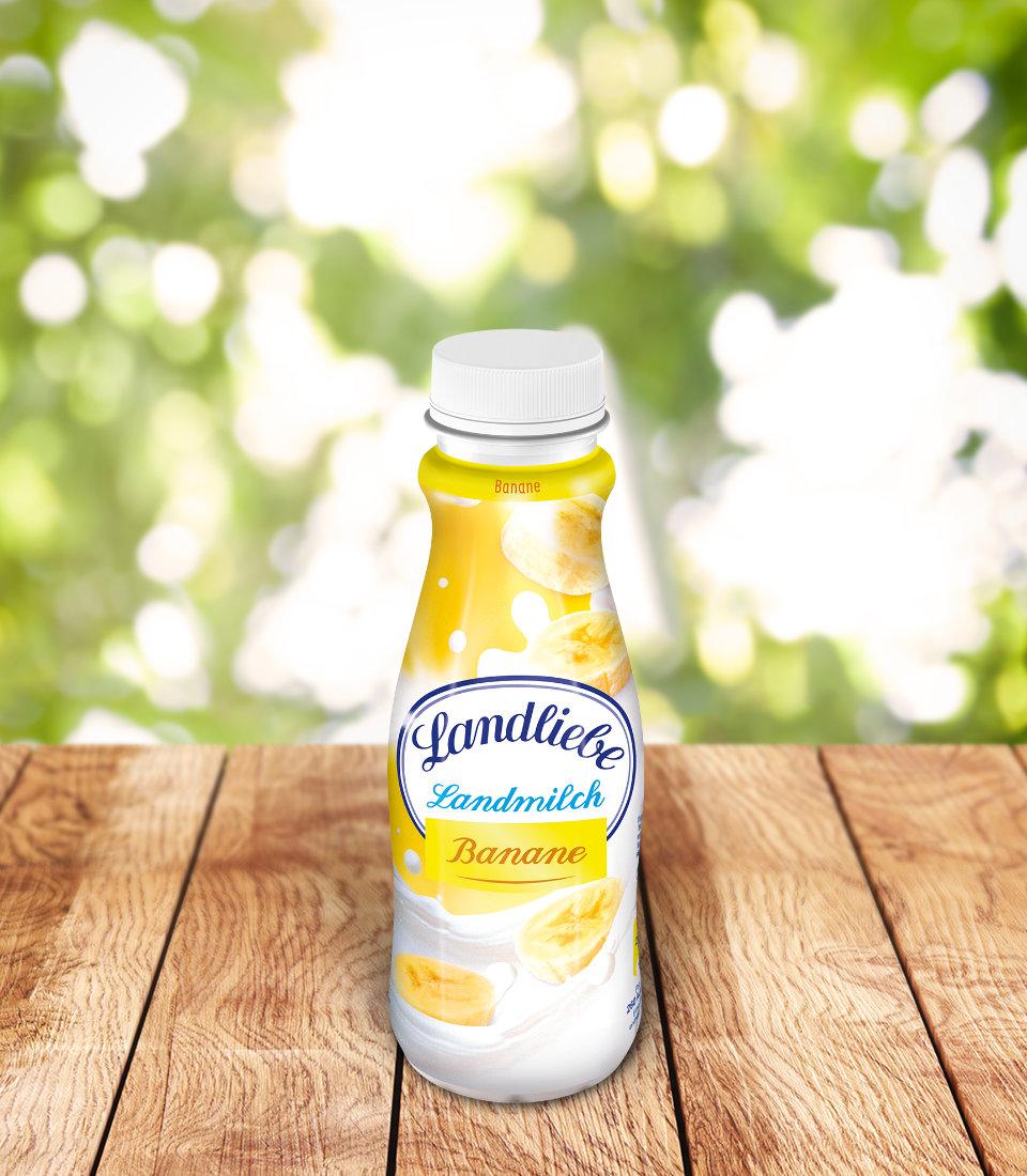 Landliebe Landmilch Banane