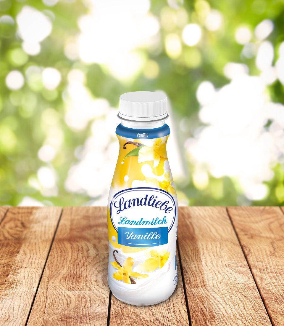 Landliebe Landmilch Vanille