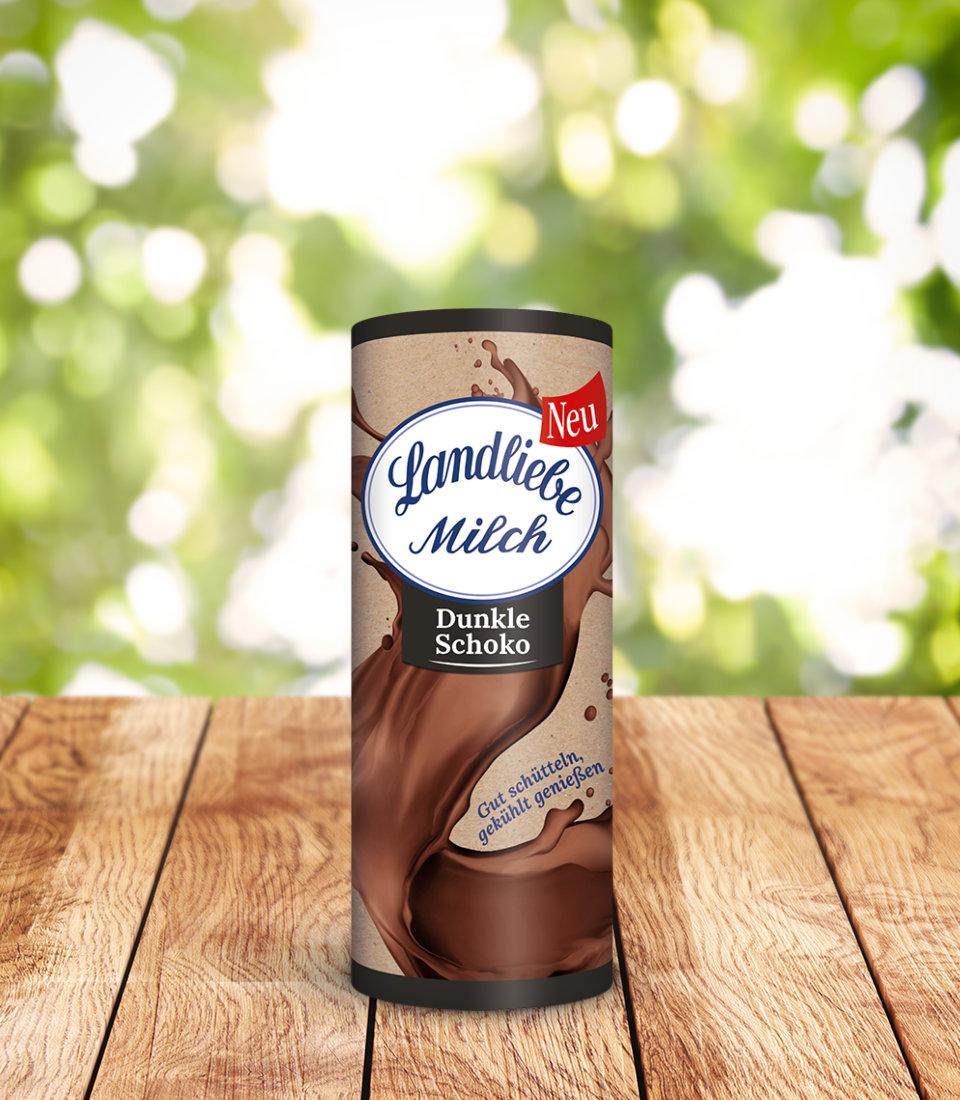 Landliebe Milch Dunkle Schoko