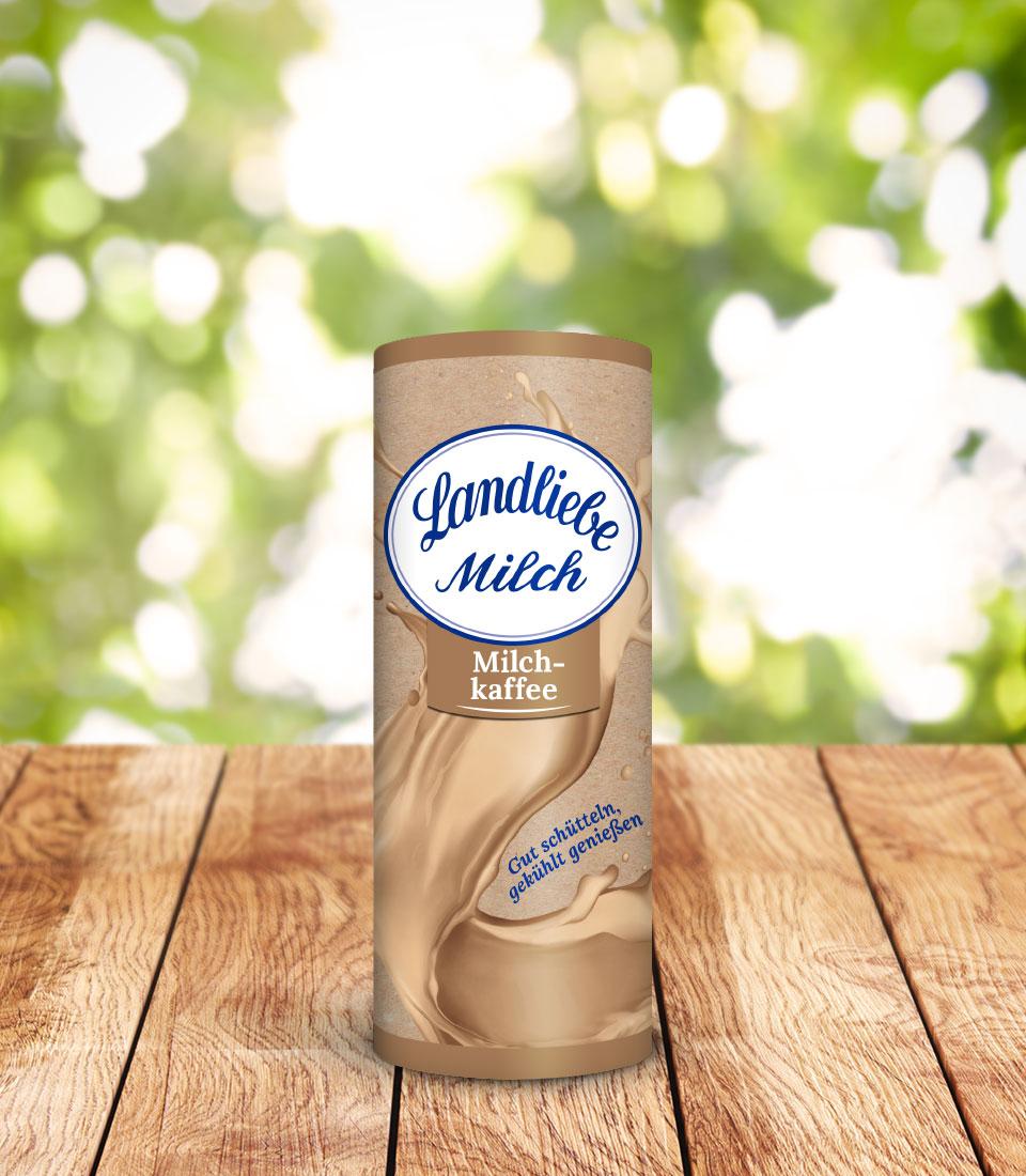 Landliebe Milch Milchkaffee