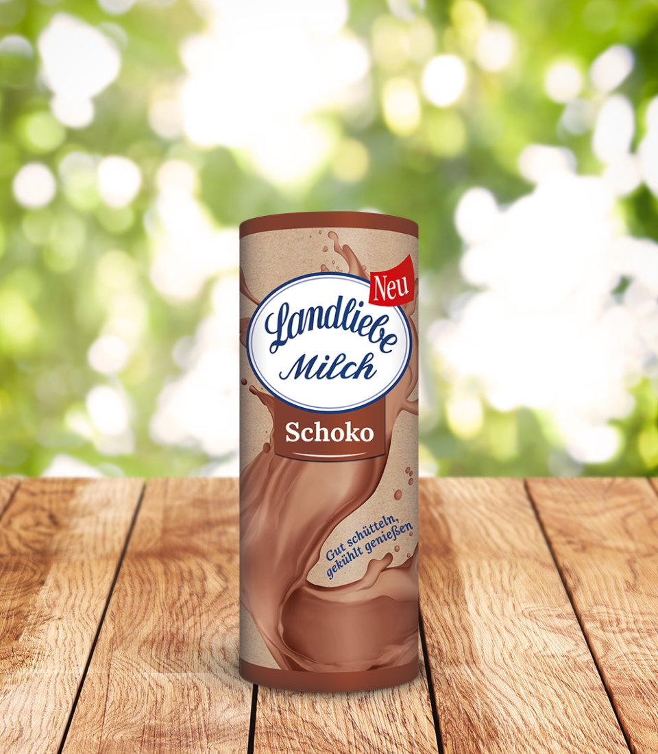 Landliebe Milch Schoko