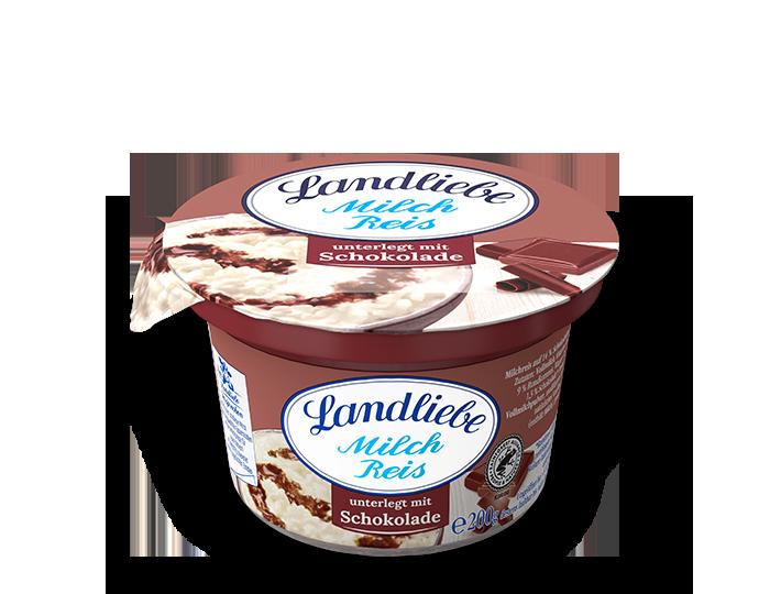 Landliebe Milchreis Schokolade