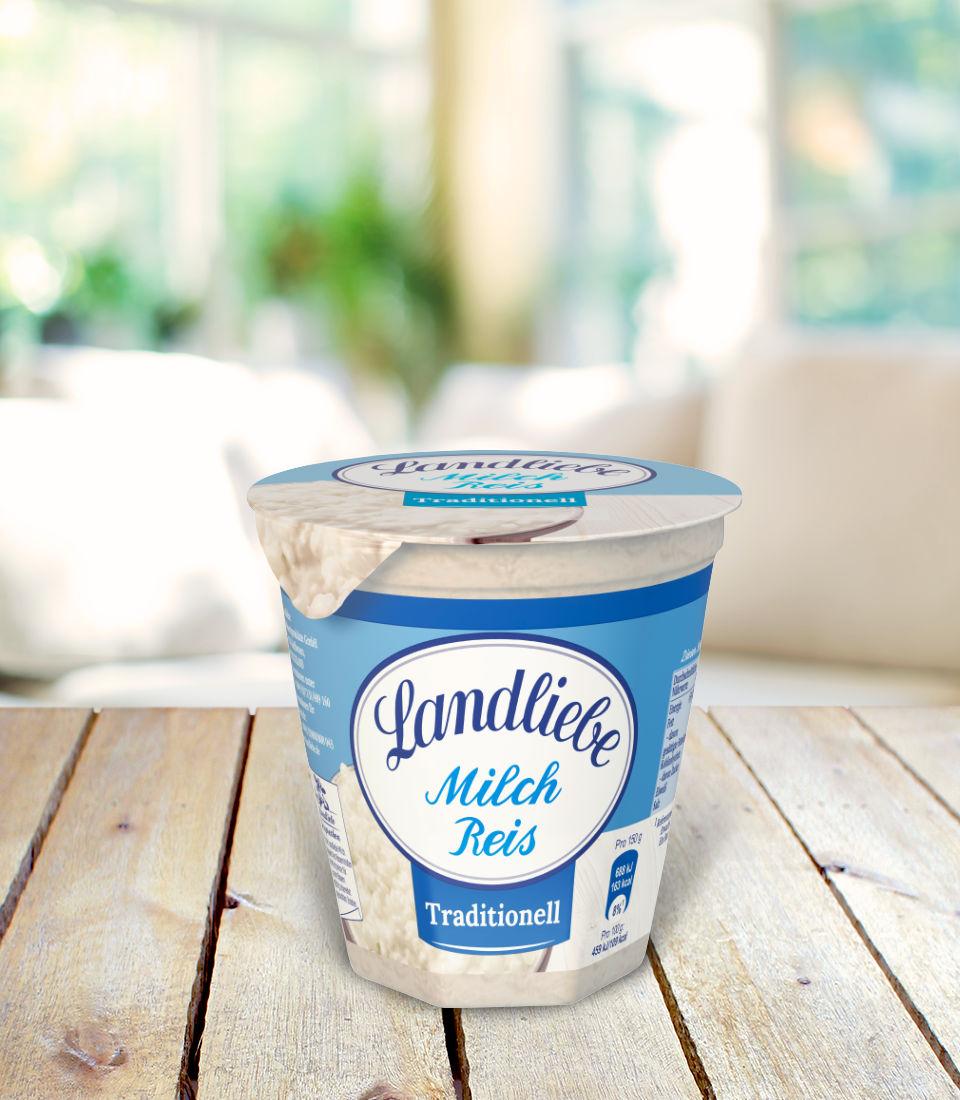 Landliebe Milchreis Traditionell