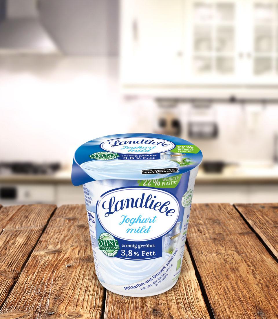 Landliebe Naturjoghurt mild