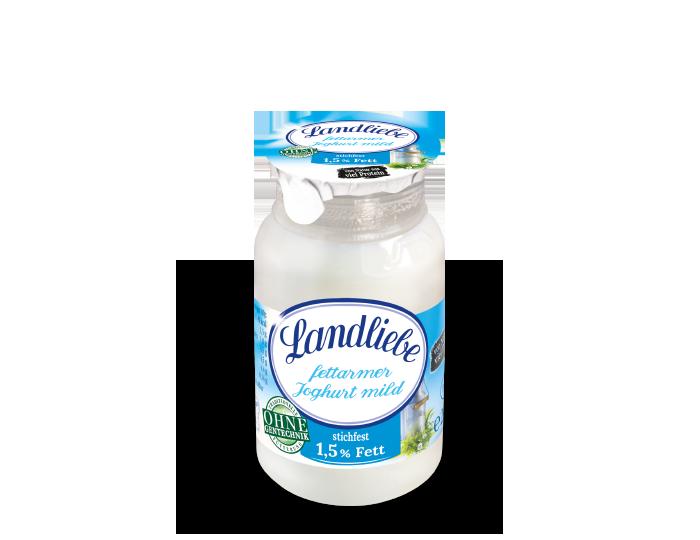 Landliebe Naturjoghurt mild stichfest