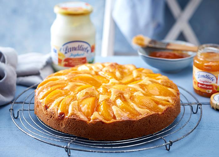 Pfirsich-Maracuja-Kuchen