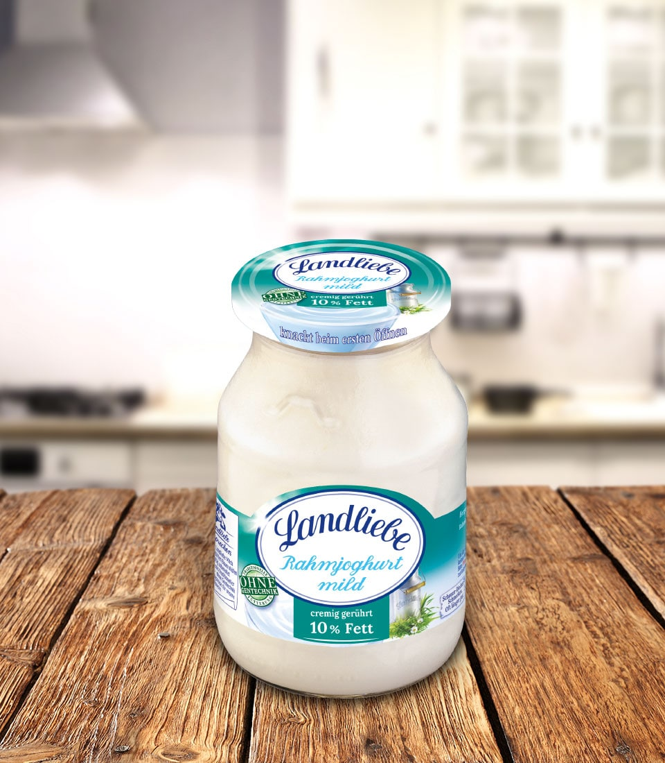 Landliebe Rahmjoghurt mild