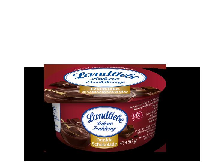 Landliebe Sahnepudding Dunkle Schokolade