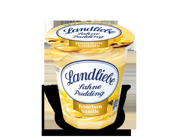 Landliebe Sahnepudding Bourbon Vanille
