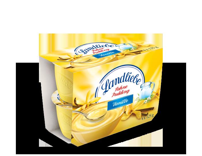 Landliebe Sahnepudding Vanille