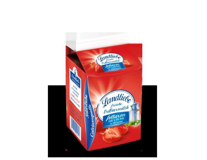 Landliebe Schulmilch Erdbeere