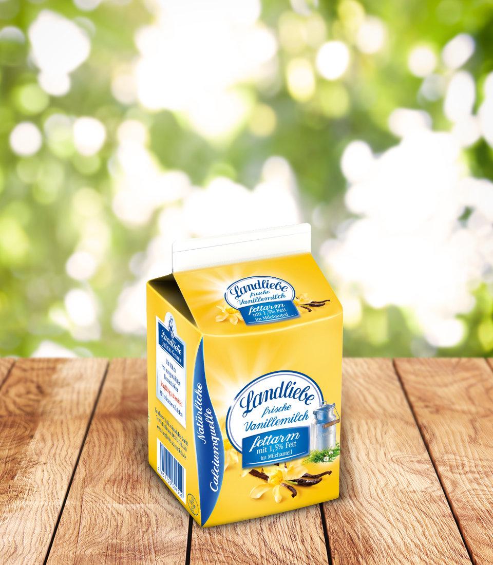 Landliebe Schulmilch Vanille