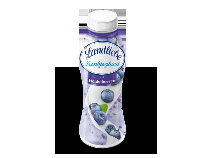 Landliebe Trinkjoghurt mit Heidelbeeren