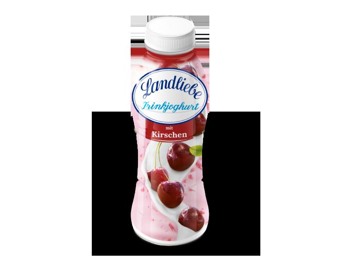 Landliebe Trinkjoghurt mit Kirschen