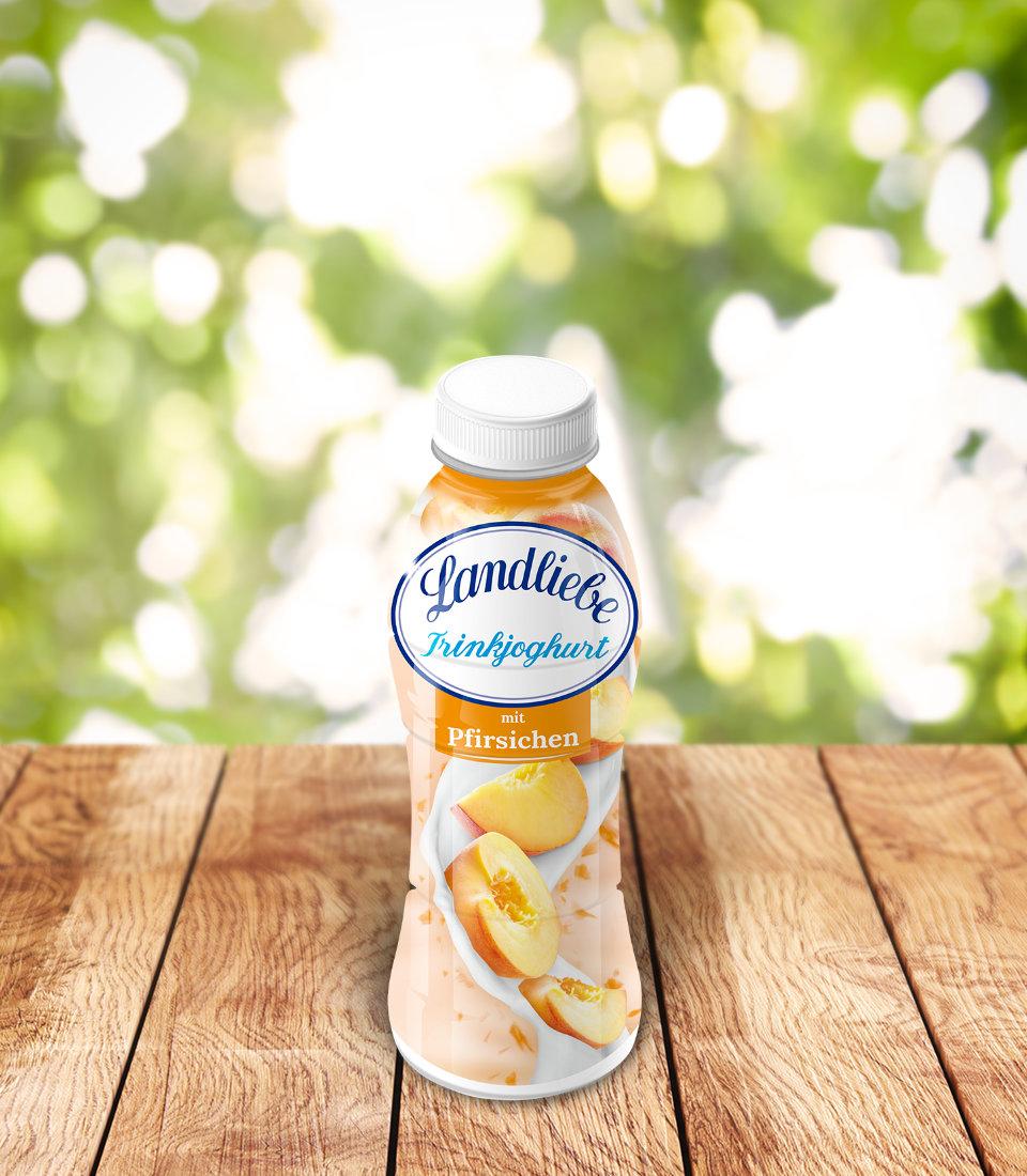 Landliebe Trinkjoghurt mit Pfirsichen