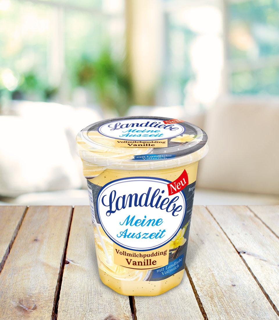 Landliebe Vollmilchpudding Vanille