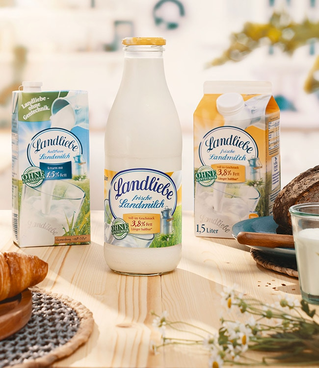 Landliebe Milch
