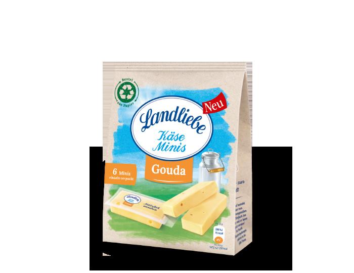 Landliebe Landliebe Käse Minis Gouda