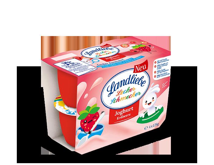 Landliebe Joghurt Erdbeere