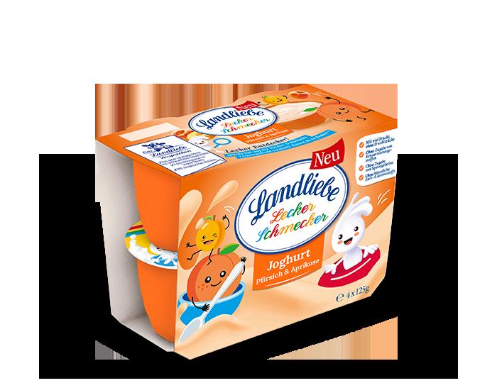 Landliebe Joghurt Pfirsich & Aprikose