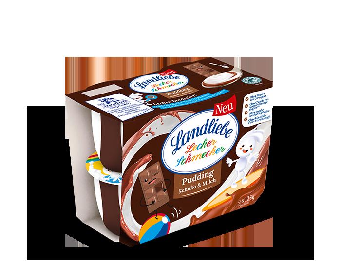 Landliebe Pudding Schoko & Milch